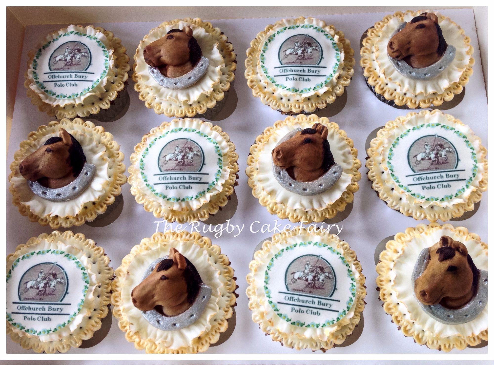 polo club cupcakes
