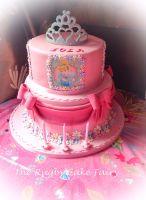 Cinderella/princess cake