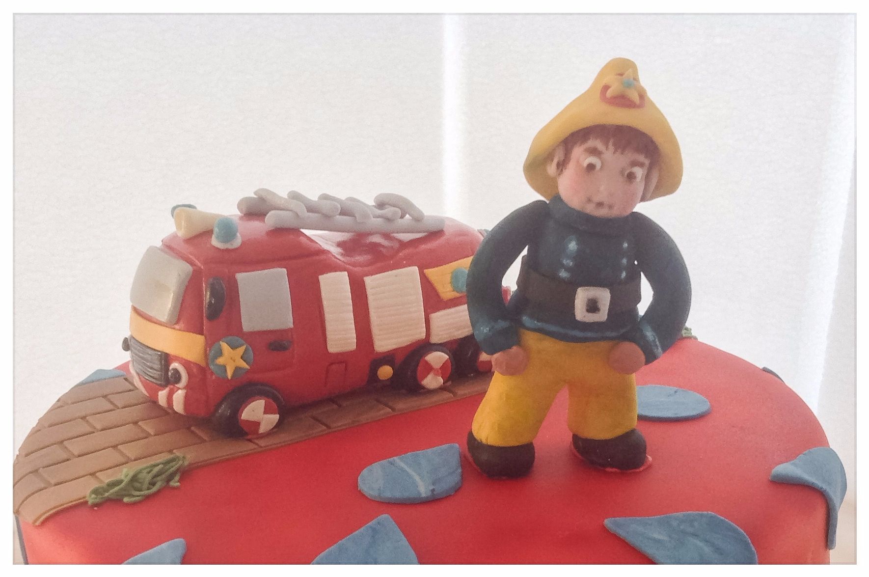 fireman sam close up