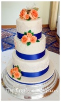 peach rose and lace wedding cake best