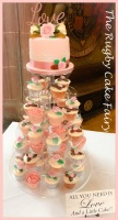 coventry guild hall cupcake tower & top cake