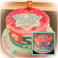 pink paw patrol with insert