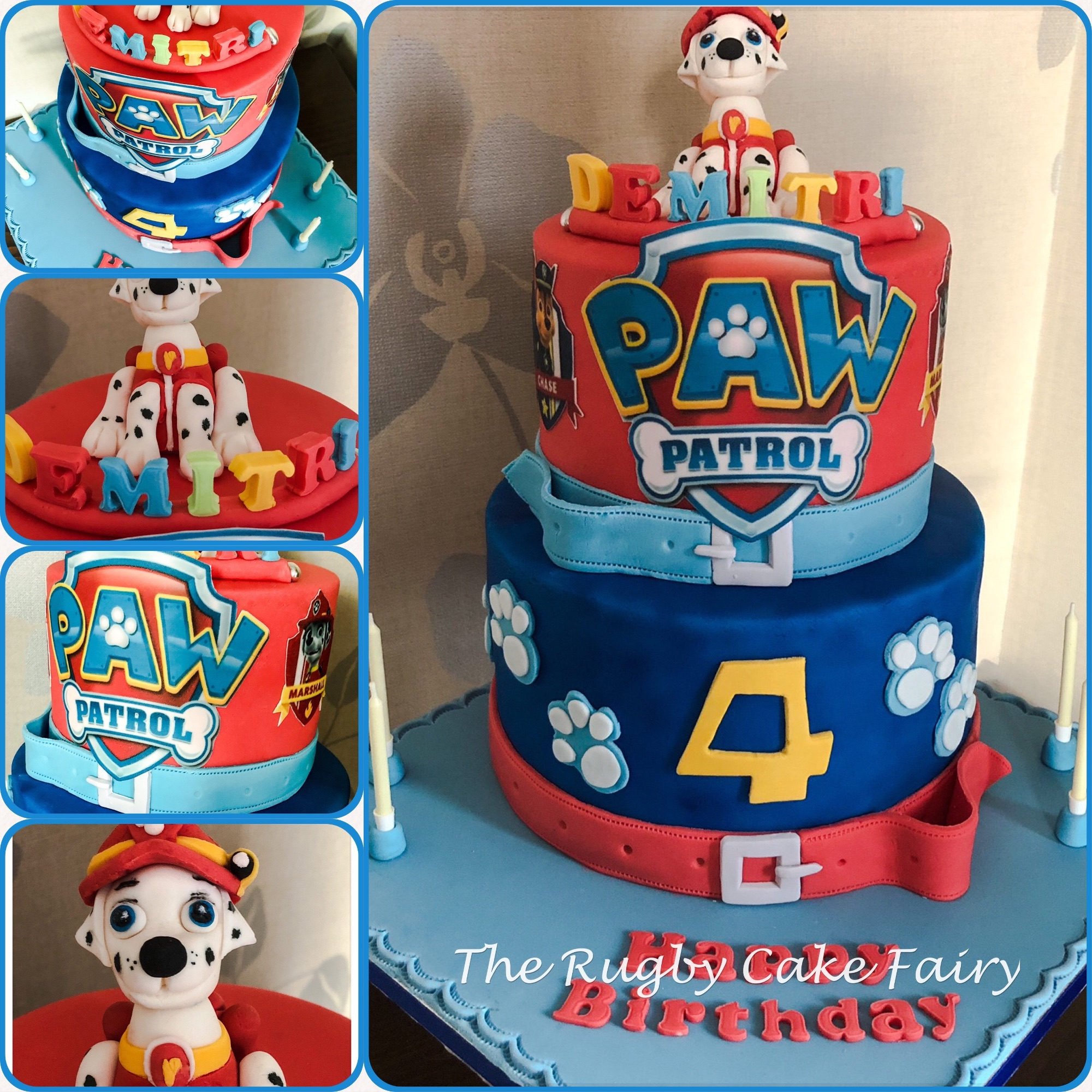 paw patrol collage