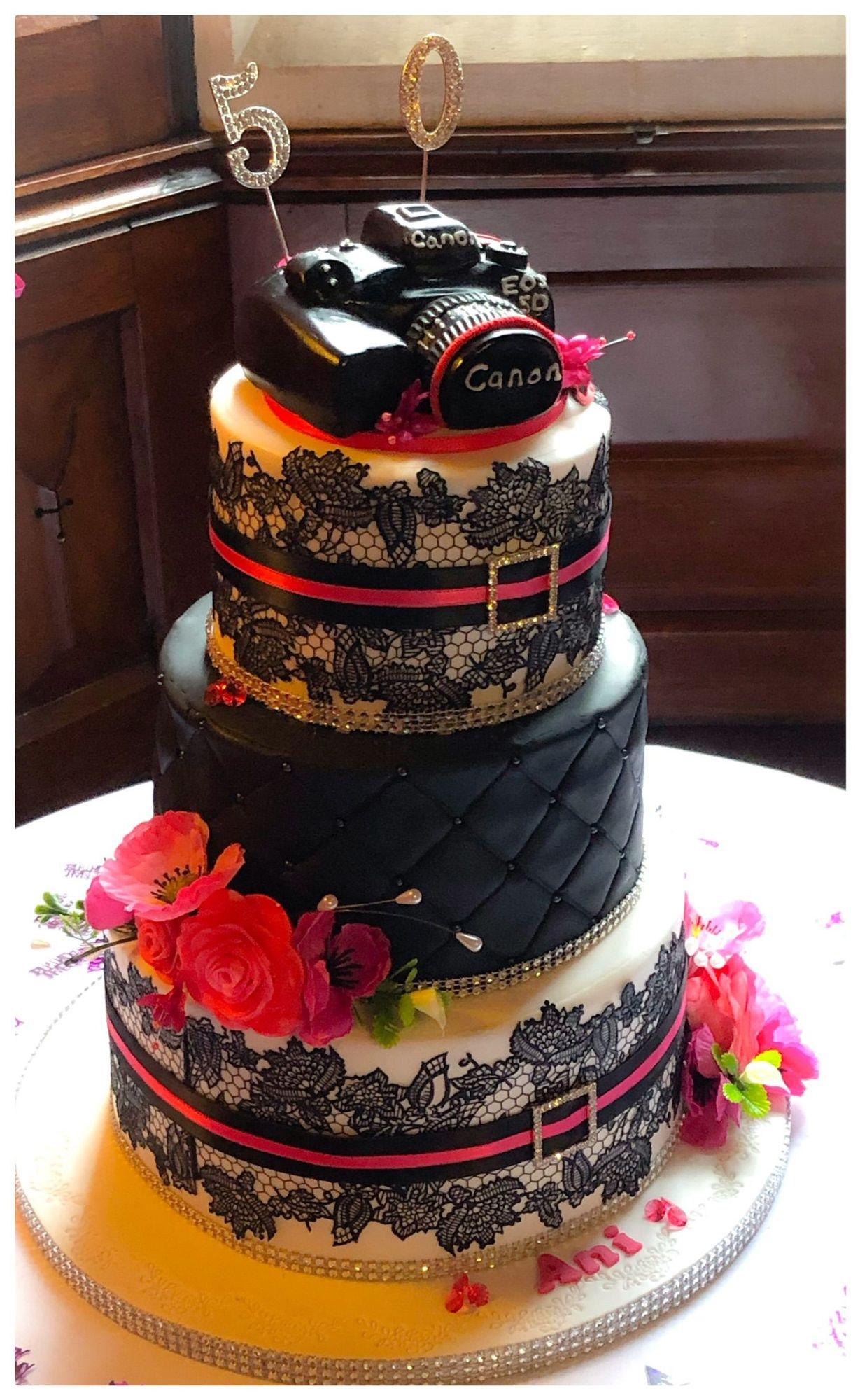 anis 50th cake 1