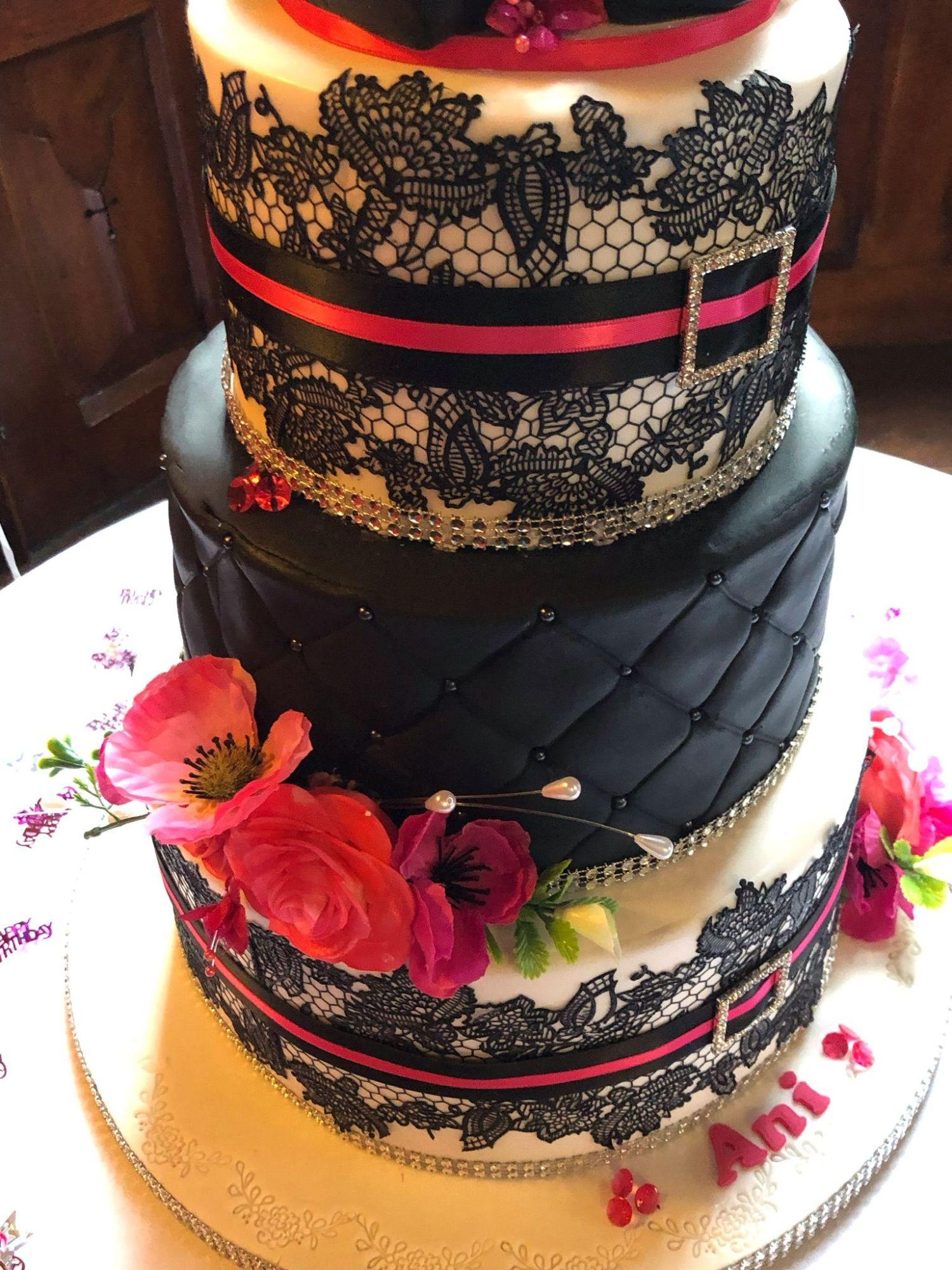 anis 50th cake 3