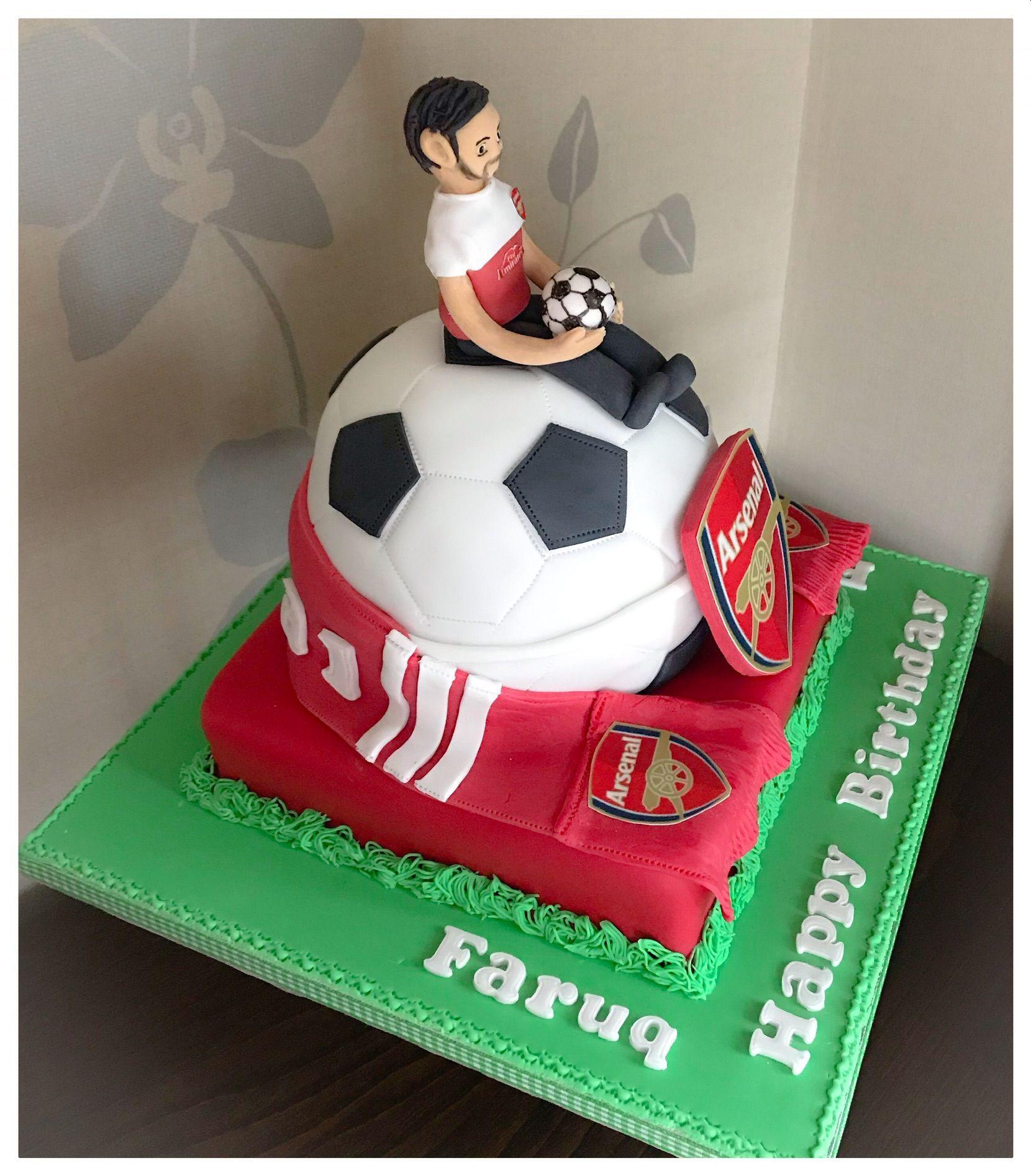 arsenal cake 1