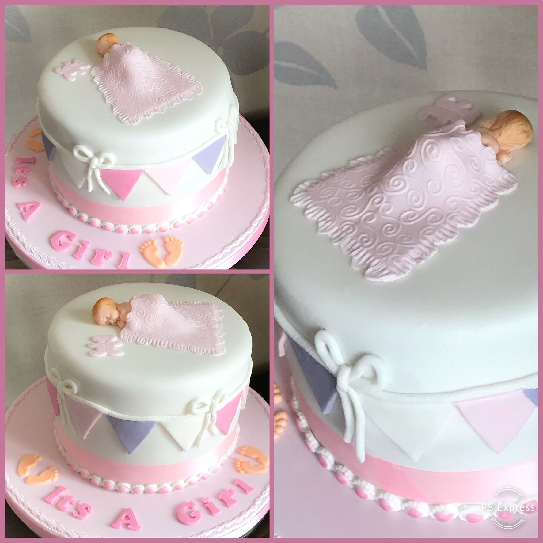 baby showe cake