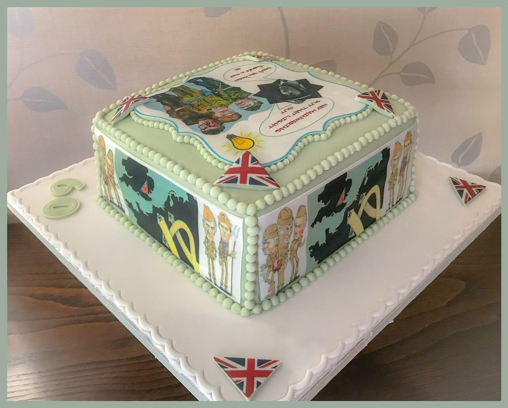 dads army cake 1