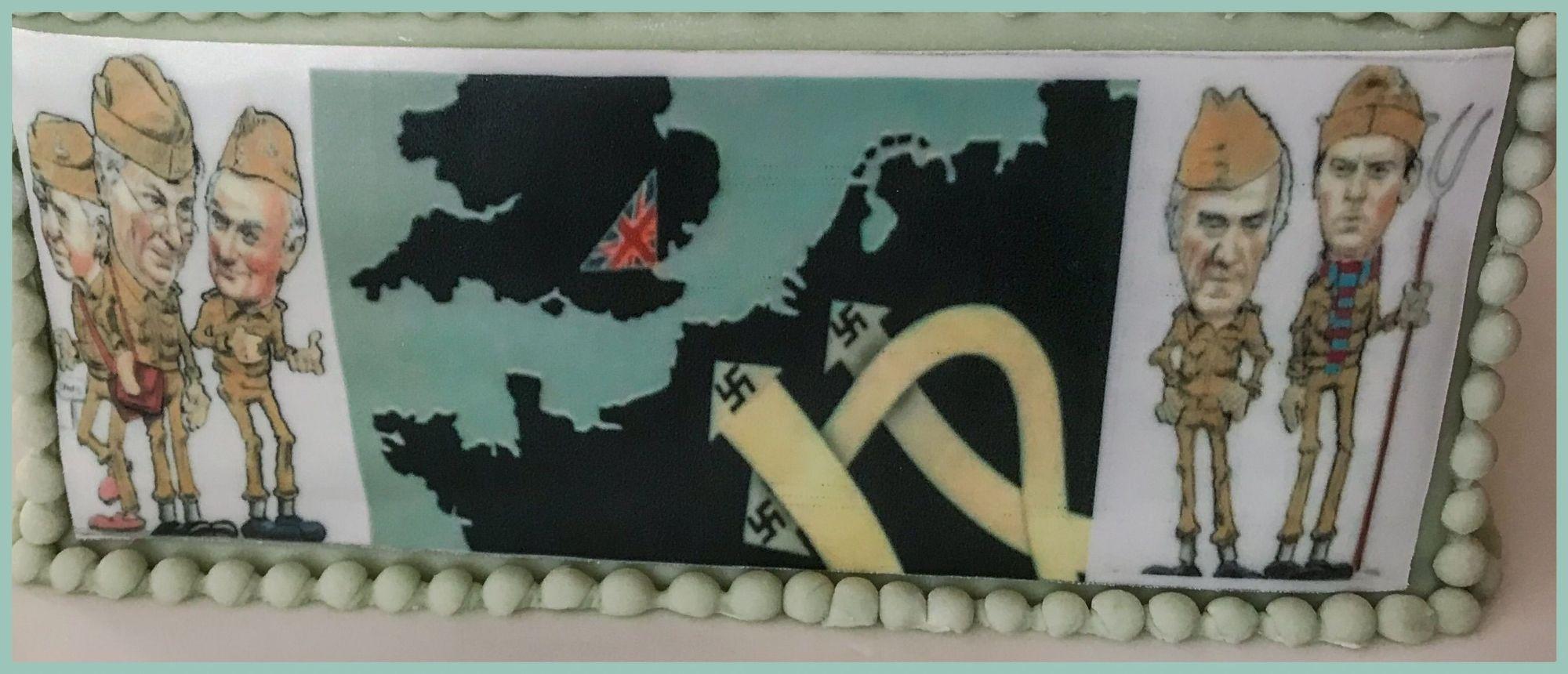 dads army cake 2