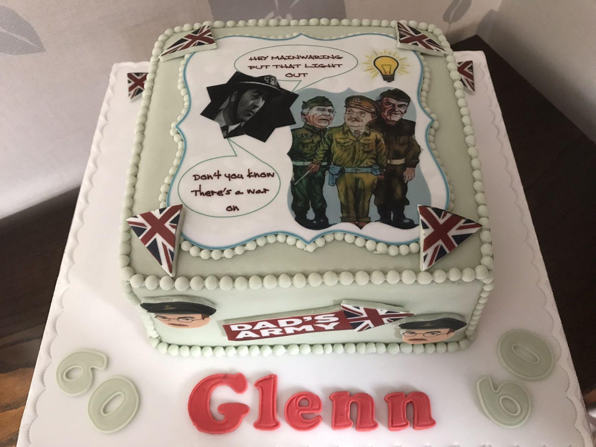 dads army cake