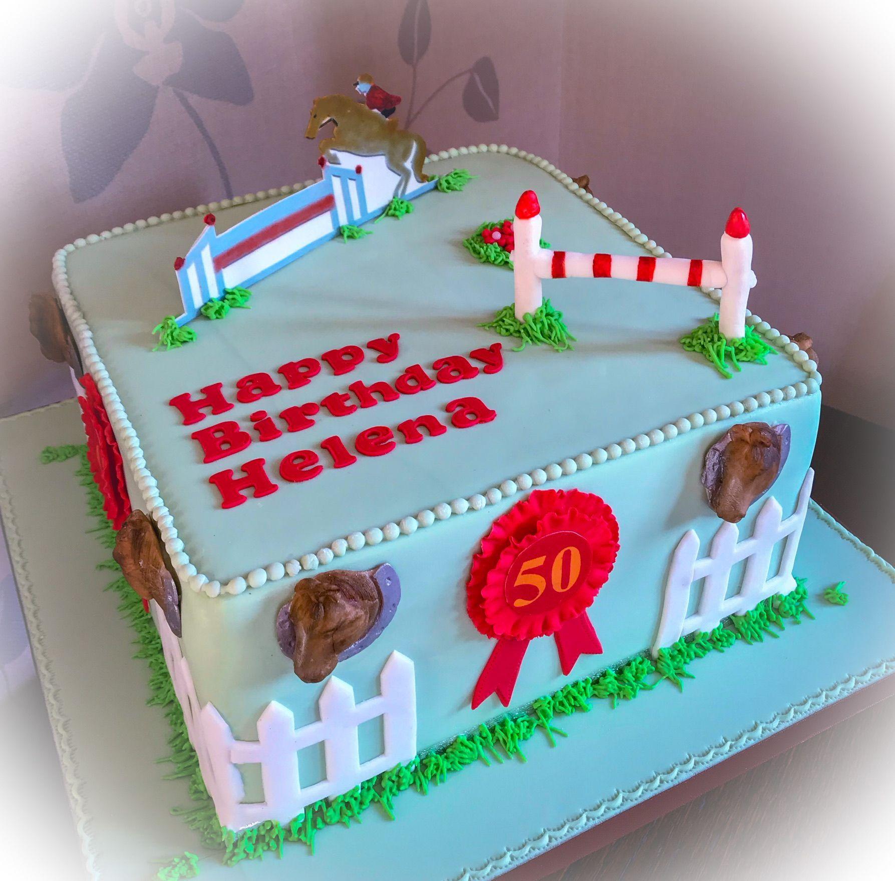 gymcana cake