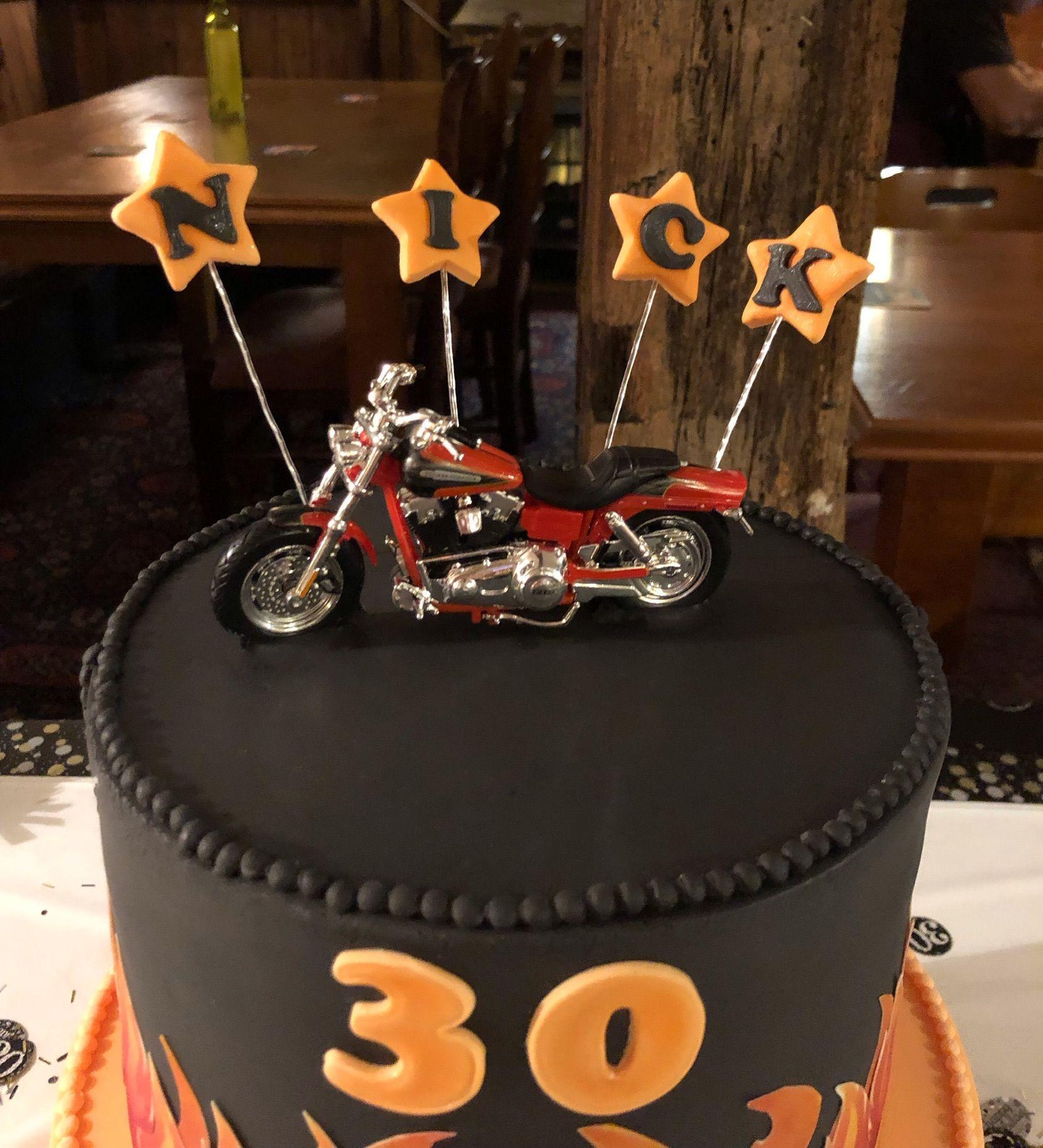 harley davidson cake 2