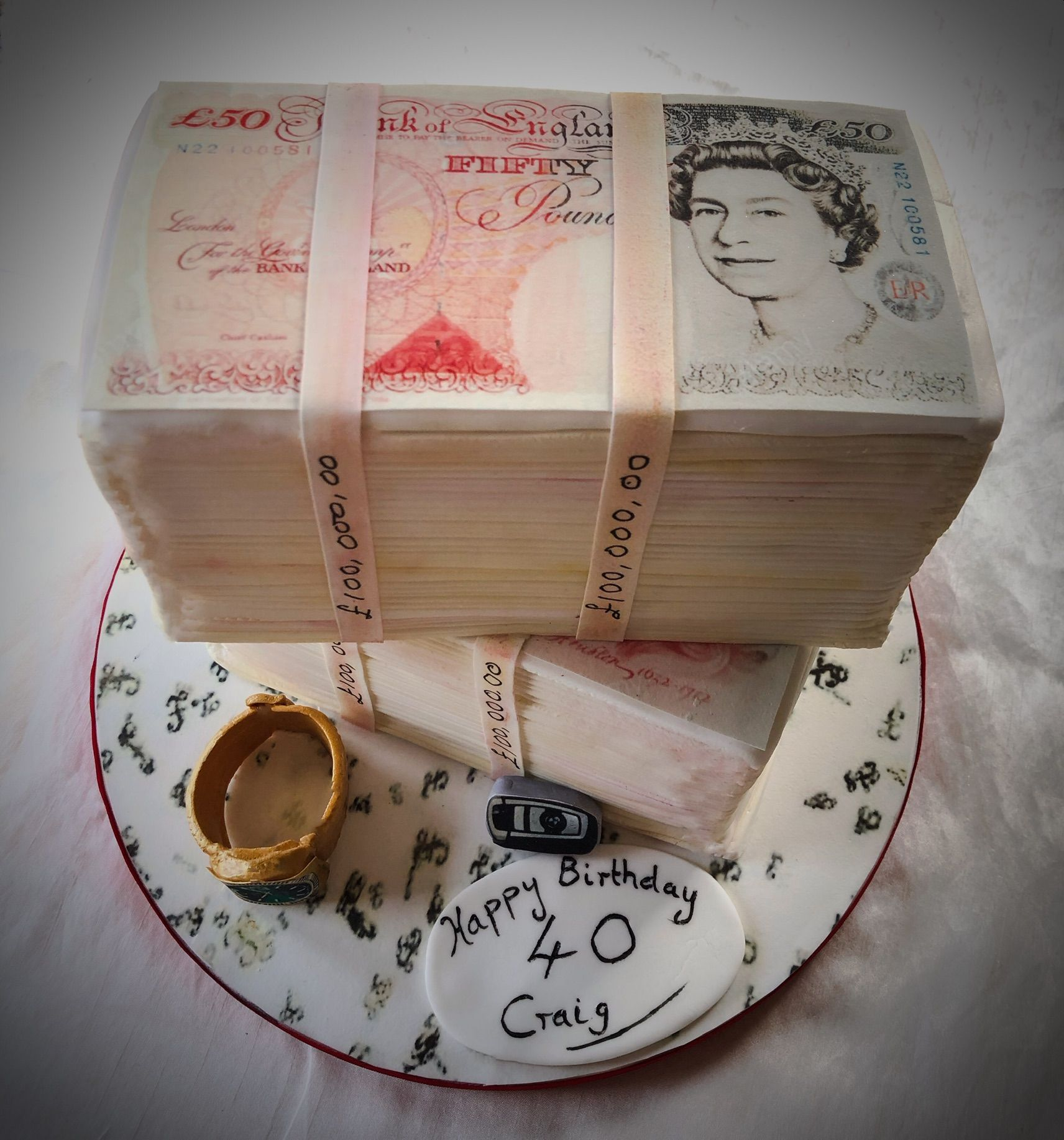 loads of money cake 1