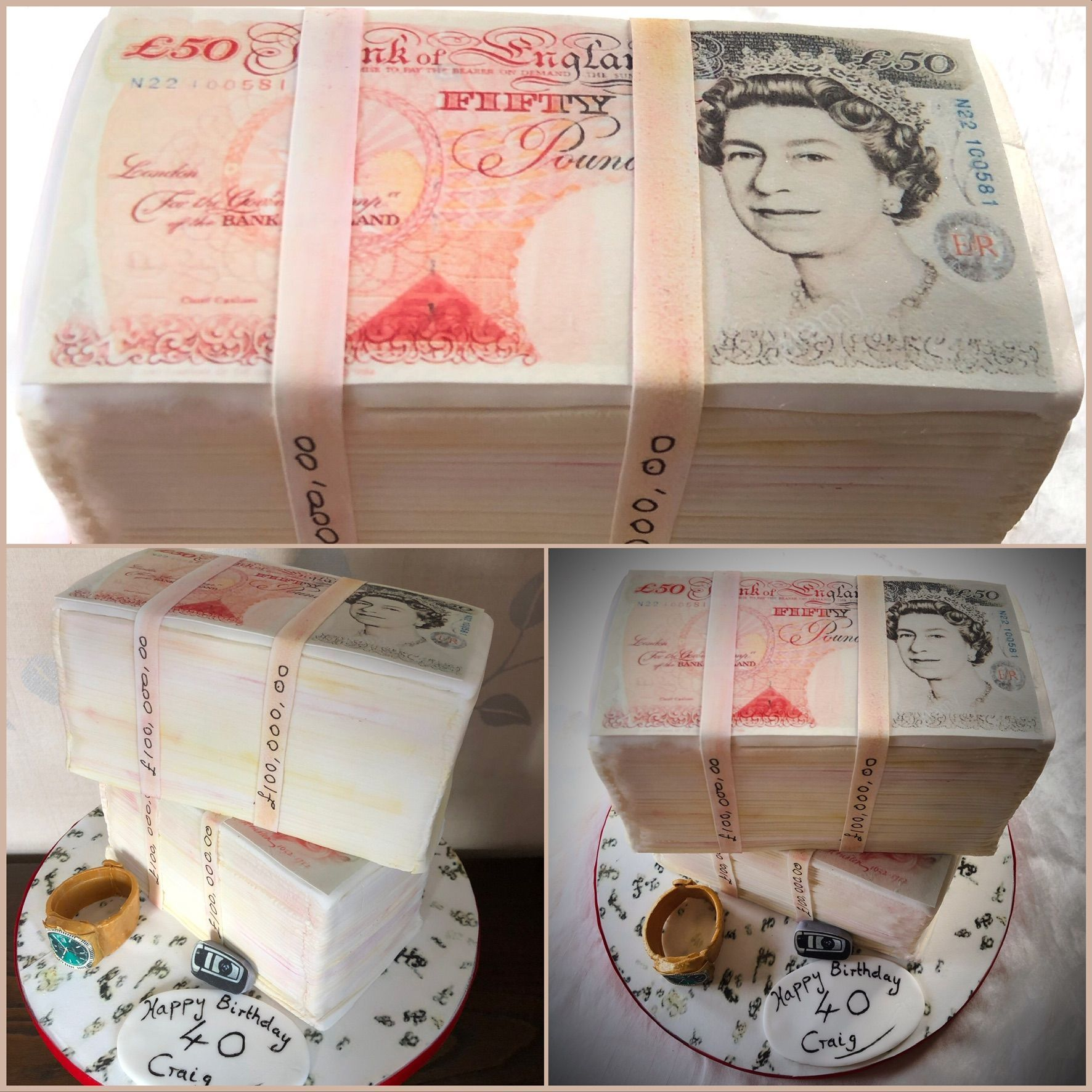 loads of money cake