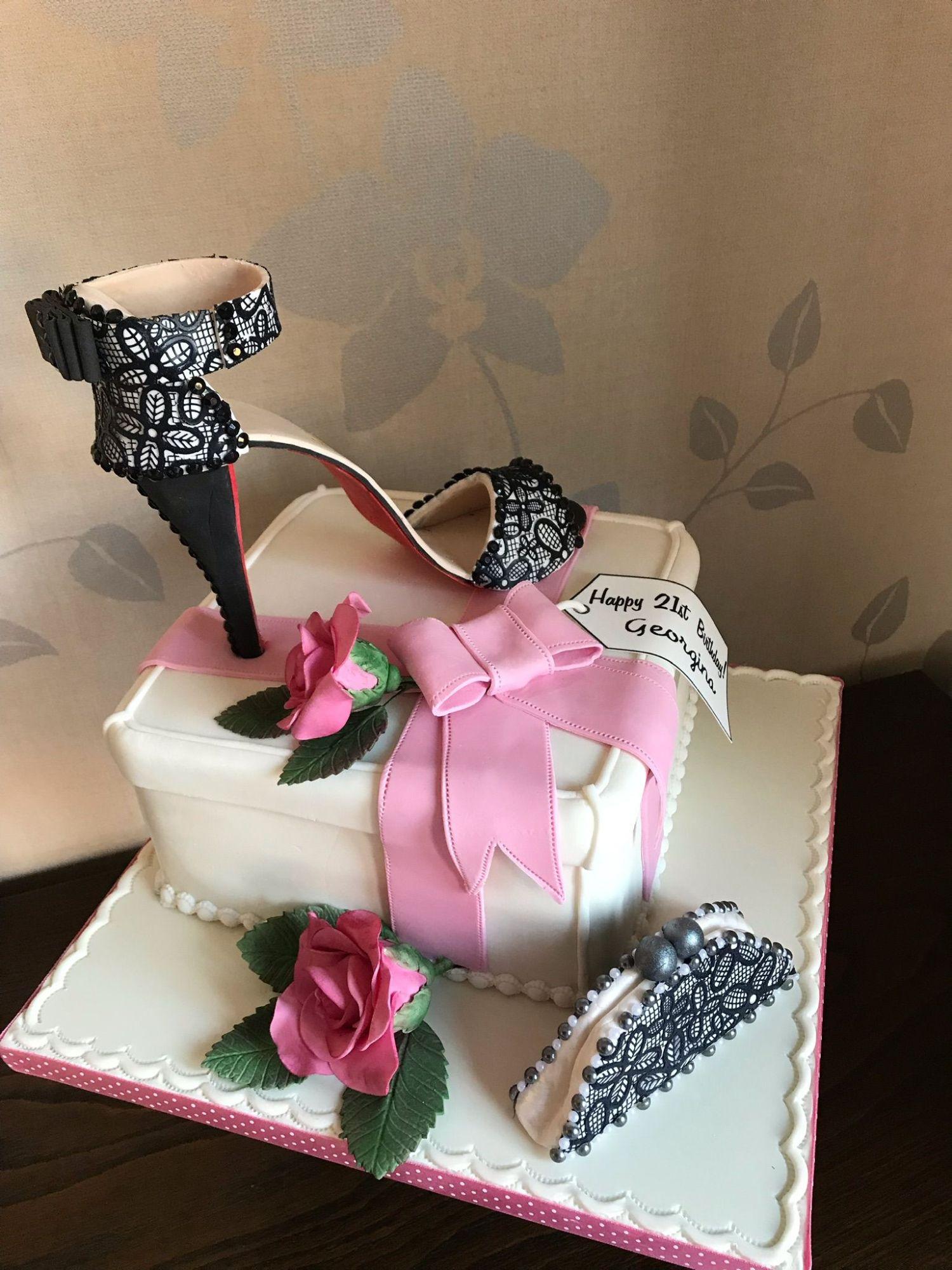 louiboutin 21st cake 1