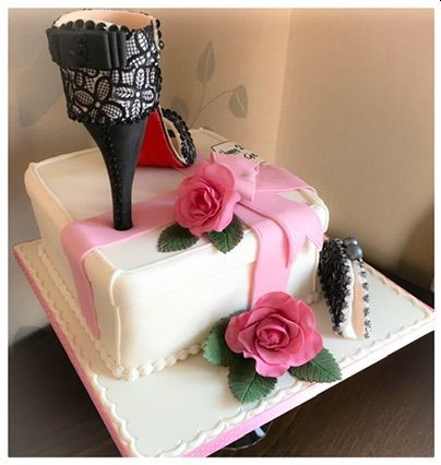 louiboutin 21st cake