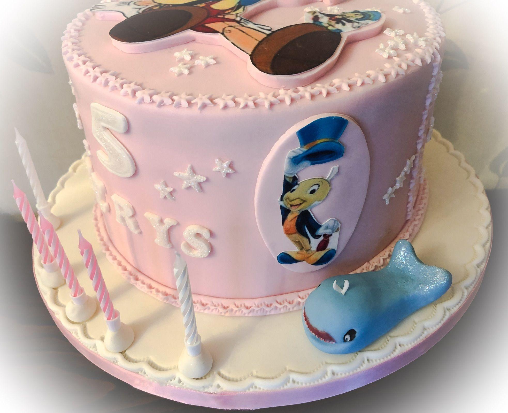 pinocchio cake 1