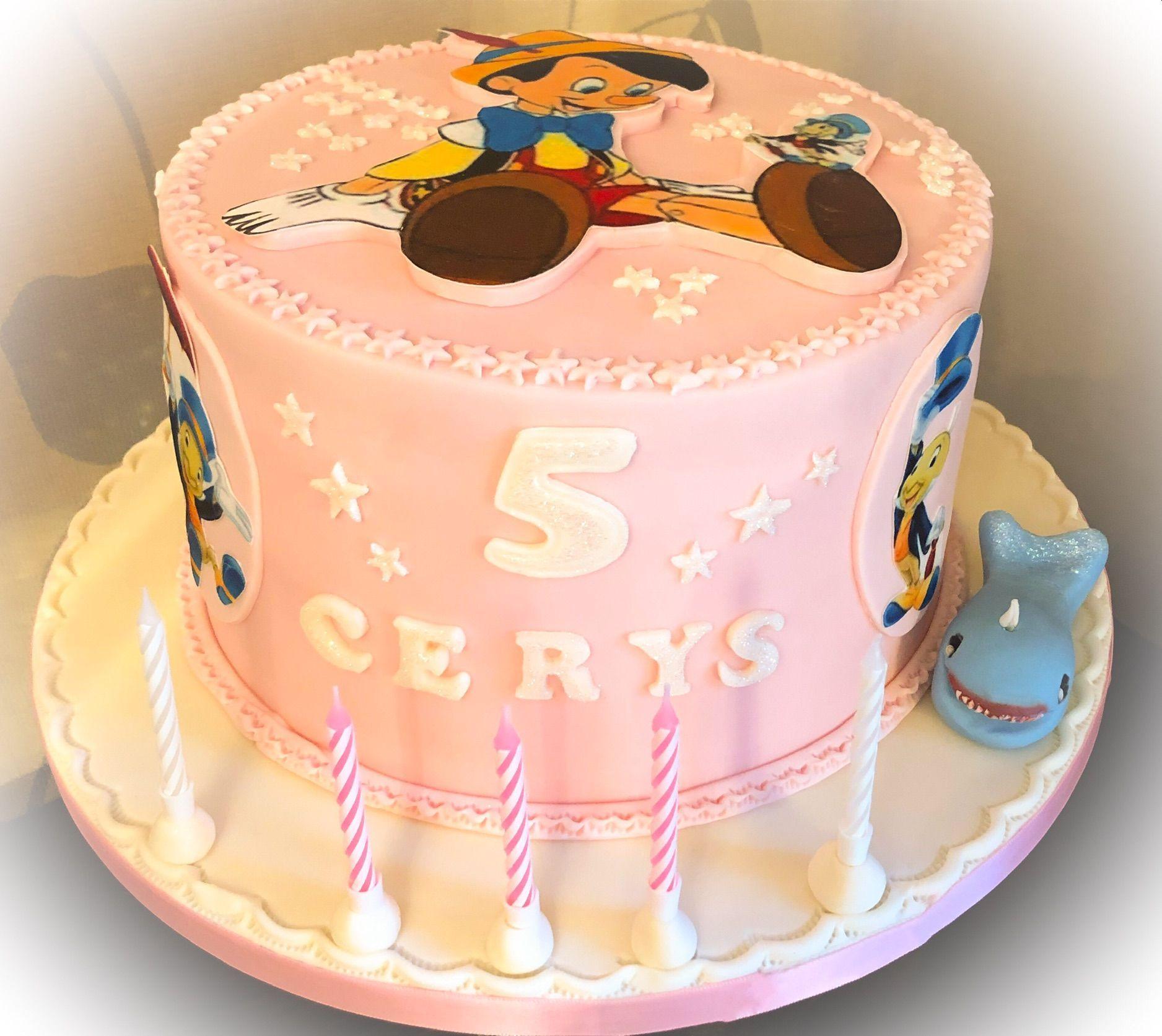pinocchio cake 5