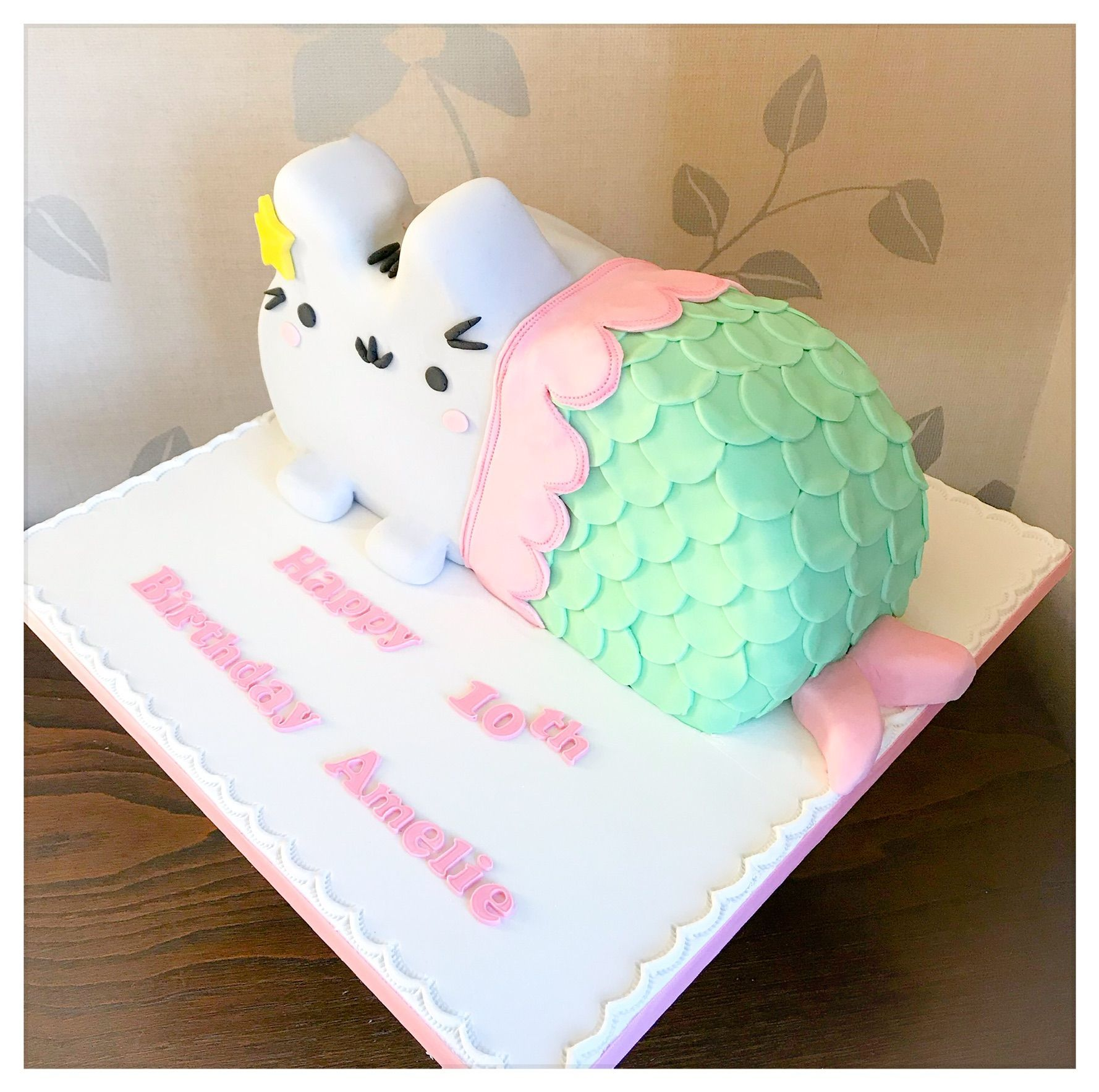 pusheen cat cake 1