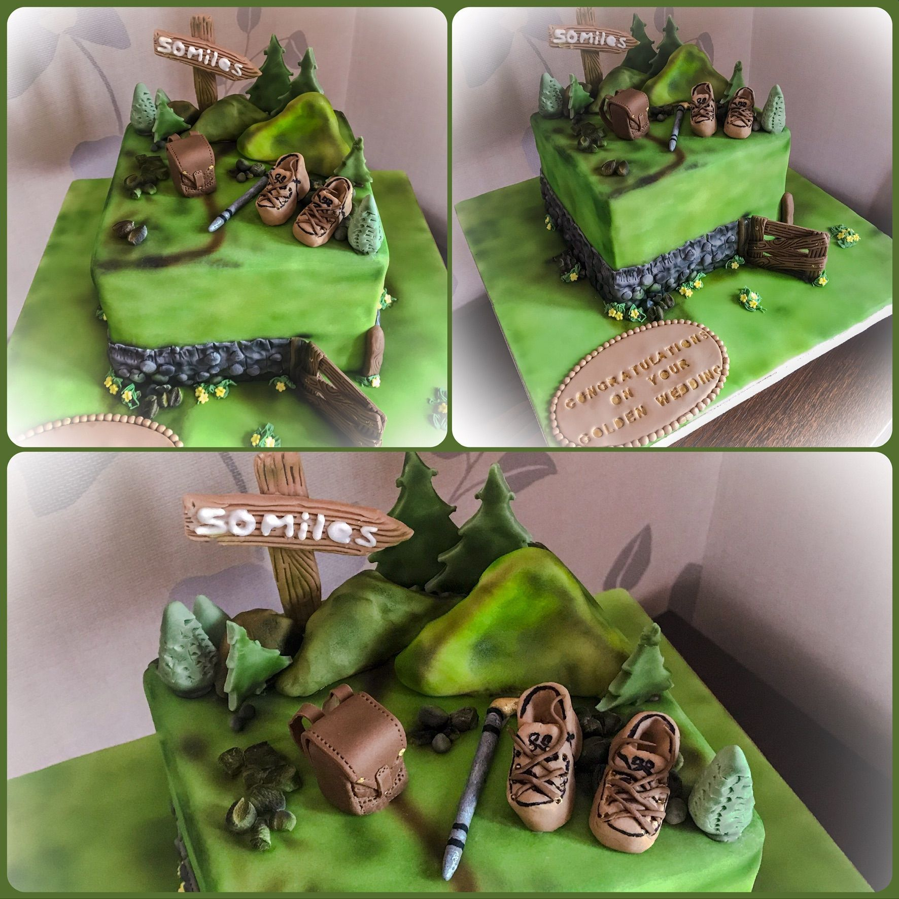 walking cake