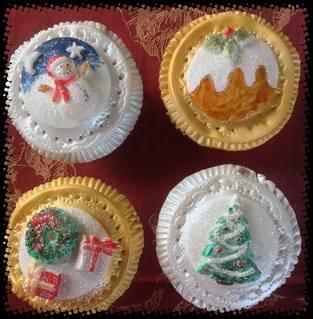 xmas cupcakes 1