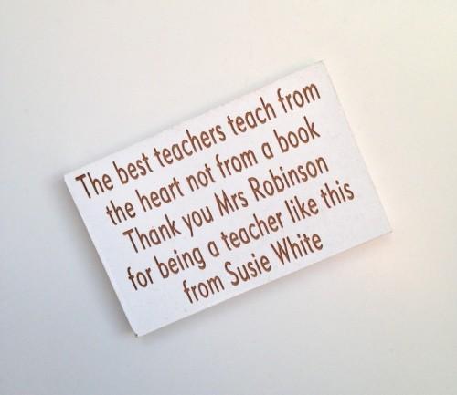 The Best Teachers Magnet