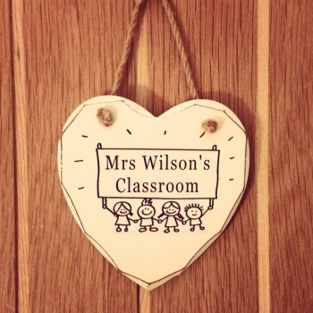 Teacher Classroom Shabby Chic Heart