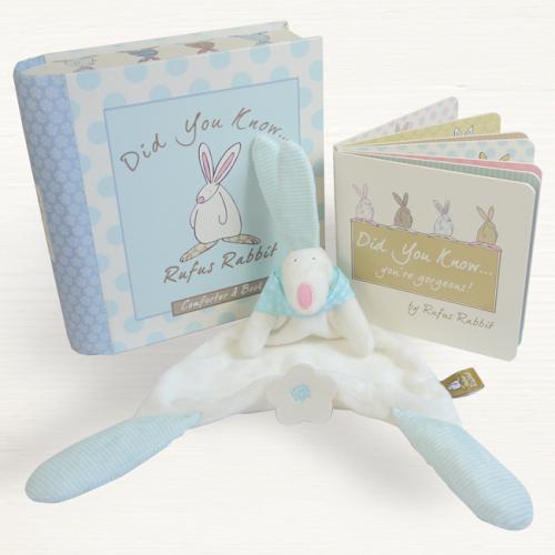 Comforter & Book Gift Set