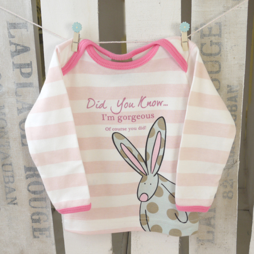 Baby Girl Organic T-Shirt