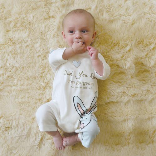 Baby Boy Romper Suit & Hat