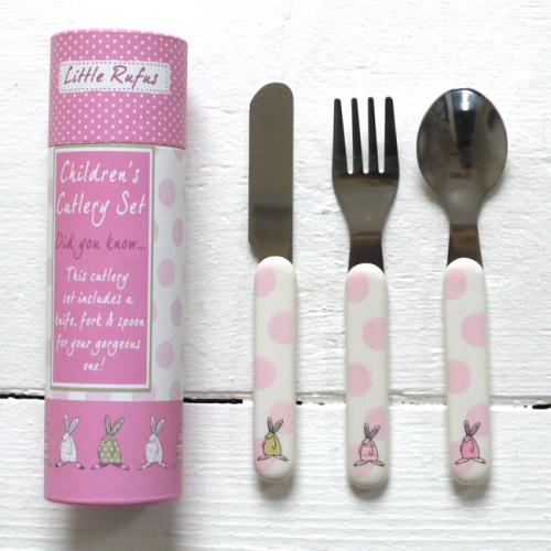 Baby Girl Cutlery Set
