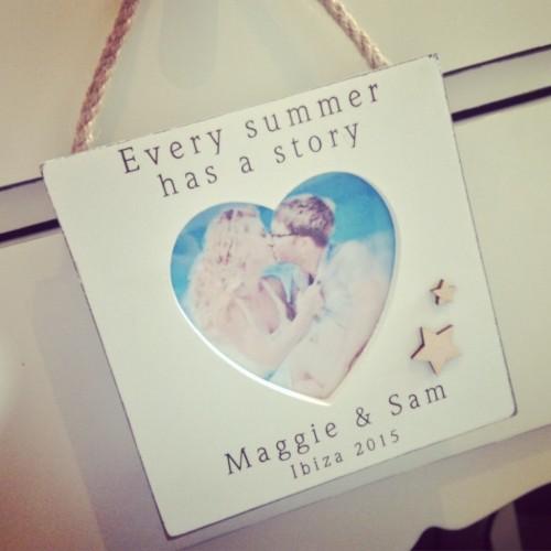 Summer Story Hanging Frame