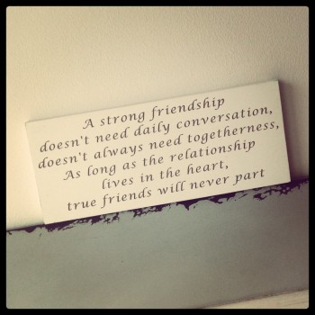 Friendship Is In The Heart