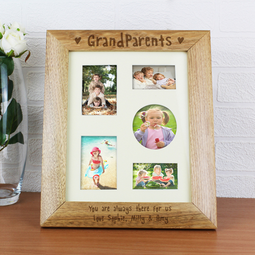 Grandparents  Wooden Collage Frame
