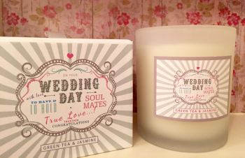 Scented Wedding Candle