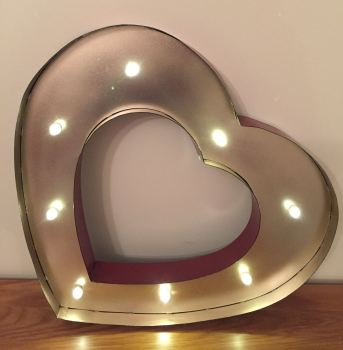 Large LED Love Heart