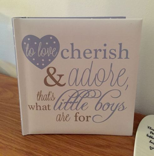 That's What Little Boys Are For Photograph Album