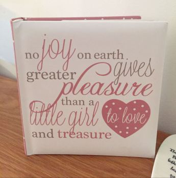 Little Girl To Love And Treasure Photograph Album