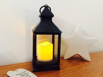 LED Flameless Lantern