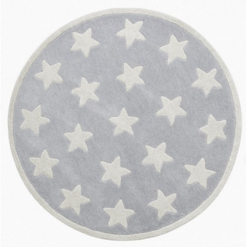 Star Grey Rug (100% Wool)