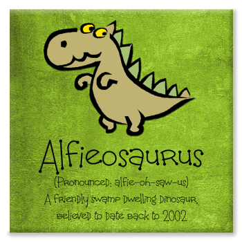 Dinosaur Name Print