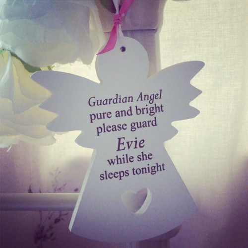 Guardian Angel Hanging Sign