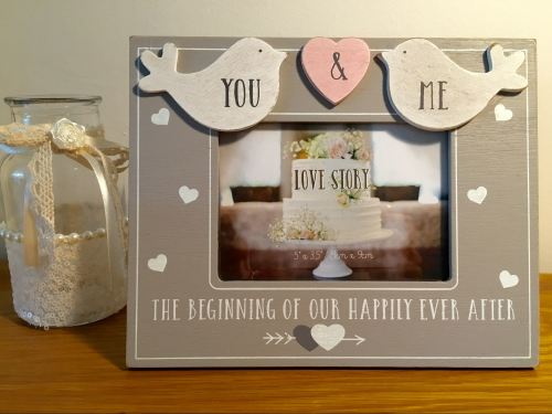 You & Me Love Bird Frame