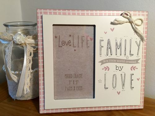 Family Love Quote Frame