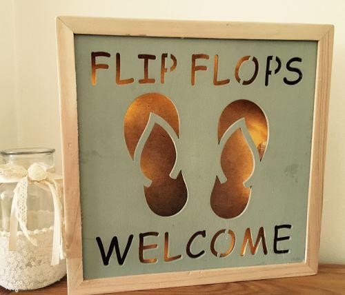 Flip Flops LED Sign