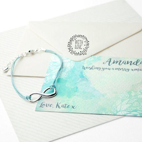 Infinity Friendship Bracelet (Personalised)