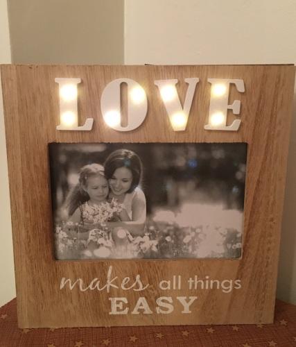 Love LED Photo Frame