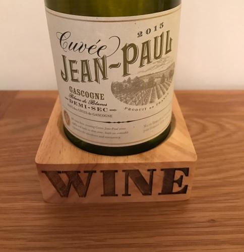 Carved Wine Bottle Holder