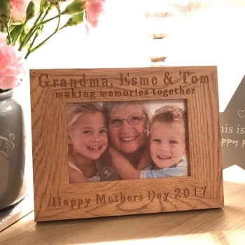 Grandma Making Memories Oak Frame