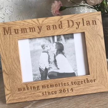 Making Memories With Mummy Frame